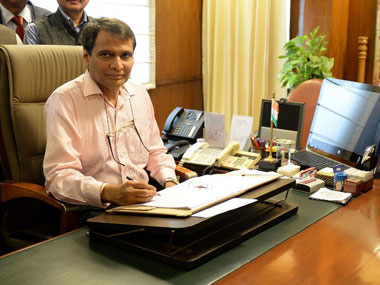 Indian Railways goes off track Suresh Prabhu may pay price for declining standards of safety punctuality