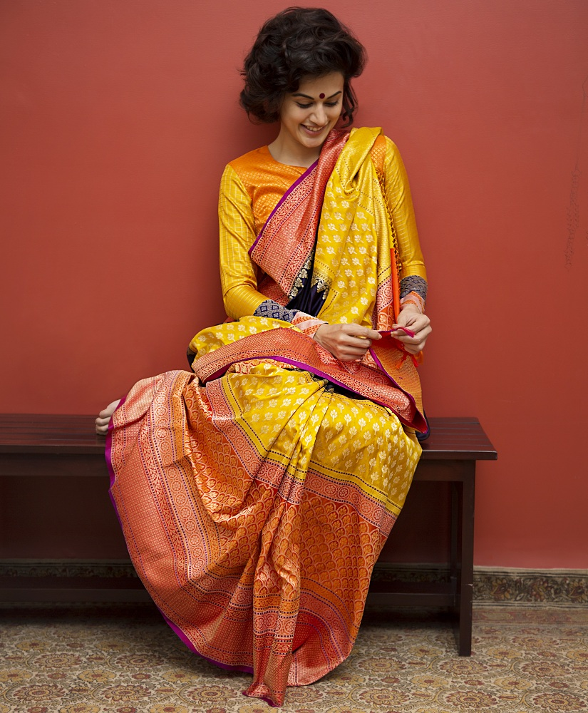 Taapsee Pannu, seen here in a Gaurang Shah episode