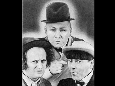 The Three Stooges. Image from Wikimedia Commons