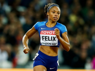 IAAF World Athletics Championships 2017 Allyson Felix aims for her 10th gold medal