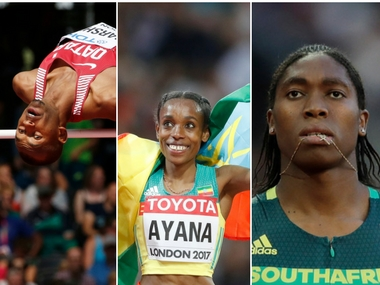 IAAF World Athletics Championships 2017 Almaz Ayana Asbel Kiprop Caster Semenya in action on Day 10