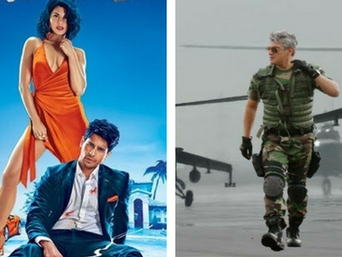 A Gentleman and Vivegam opened to theatres on 25 August. Images via Twitter