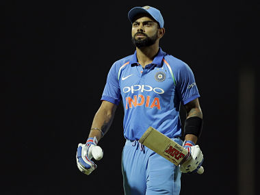 India's Virat Kohli said he doesn't regret changing team's batting order. AP