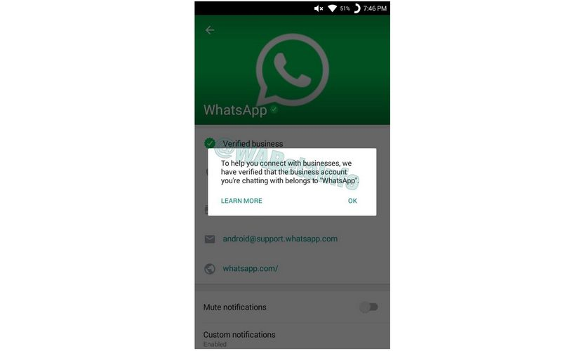 WhatsApp verified business accounts are coming soon