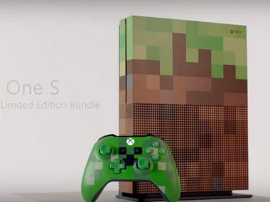 Microsoft Xbox One S 'Minecraft edition' available for pre-order from 21 August