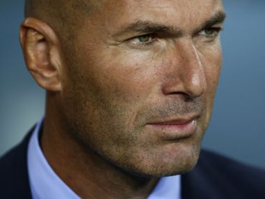 Barcelona terror attack Real Madrid boss Zinedine Zidane shows support for victims ahead of La Liga opener