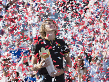 Montreal Masters Alexander Zverev upsets Roger Federer in straights sets to claim fifth title of season