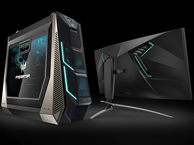 The Orion 9000 and the X35. Image: Acer.