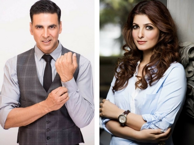 Akshay Kumar and Twinkle Khanna. Images via Facebook