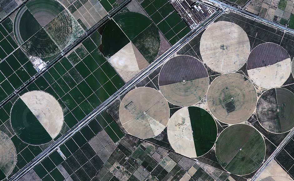 """Spellbinding images captured by ISRO's Earth observation satellites, India's """"eyes in the skies"""""""