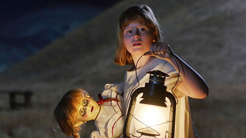 Still from Annabelle: Creation. Image from Twitter.