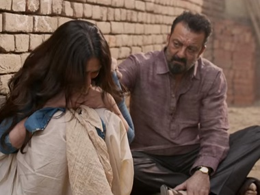 A still from the trailer of Bhoomi. Youtube screengrab