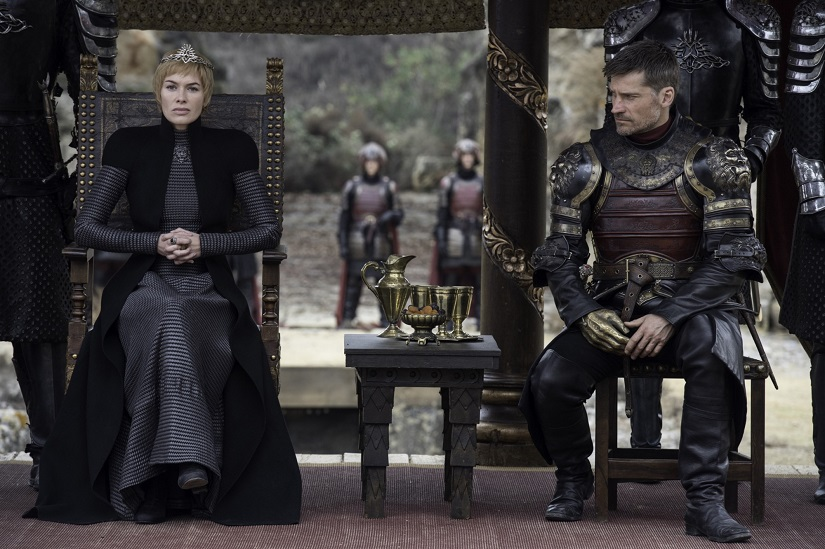 Still from Game of Thrones season 7 finale. Image via HBO