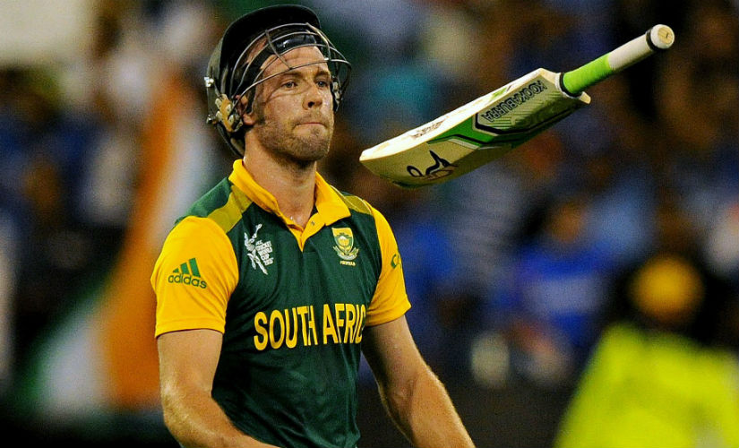AB De Villiers has curtailed the number of Tests he plays to keep himself fresh for the World Cup in 2019. AFP