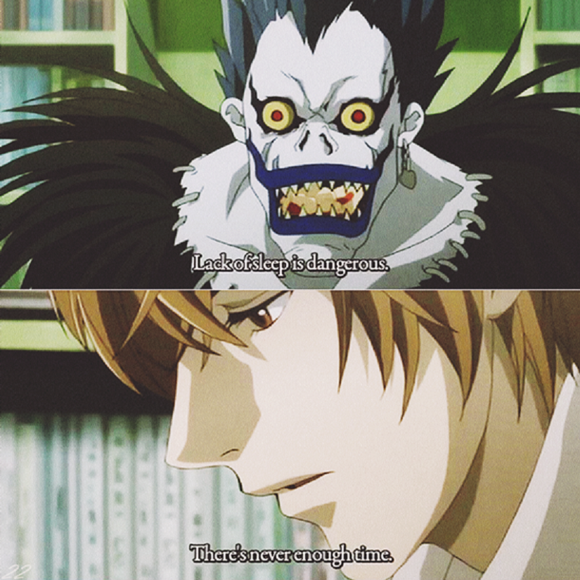 A still from Death Note. Image from Facebook