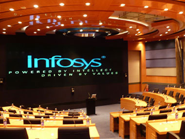 Infosys shares gain nearly 4 on betterthanexpected 103 net profit growth in September quarter