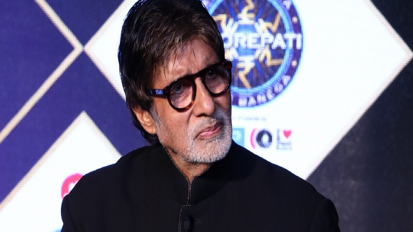 Amitabh Bachchan at the KBC Season 9 announcement event