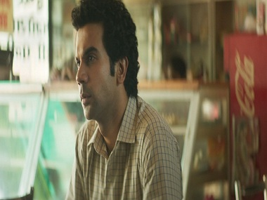 Rajkummar Rao in a still from Newton. Eros Now.