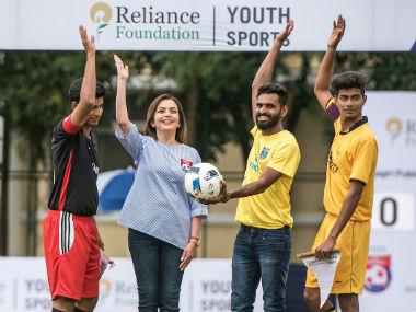 Nita Ambani, CK Vineeth kick off 2nd season of Reliance Foundation Youth Sports' national football competition