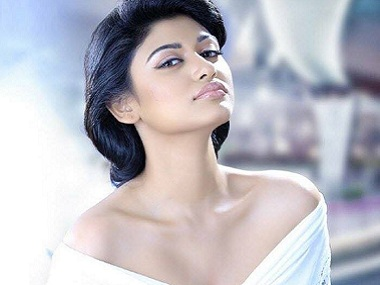 Oviya Helen. Image via Facebook/Vega Entertainment