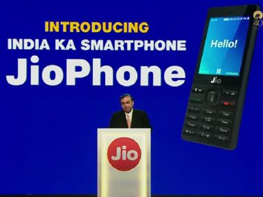 Reliance JioPhone pre-booking to start from today evening for Rs 500
