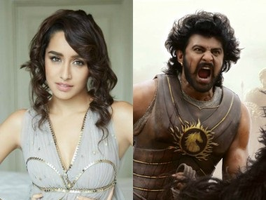 Shraddha Kapoor and Prabhas. Image from Facebook