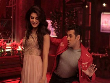 Jacqueline Fernandez and Salman Khan in a still from Kick. YouTube