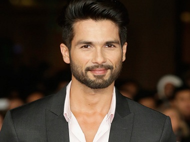 Shahid Kapoor. Image from Getty Images.