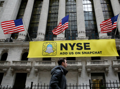 Snapchat refused to be acquired by Facebook. Reuters.
