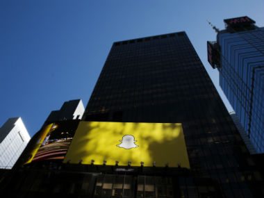 Snapchat has lesser daily active users than Instagram. Reuters.