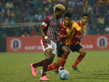 ILeague 201718 Sony Norde bids emotional farewell to Mohun Bagan but promises to be back