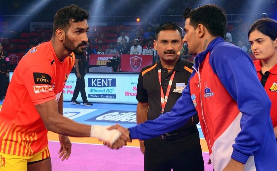 Haryana Steelers notch up season's first victory; win eludes Telugu Titans and Bengaluru Bulls