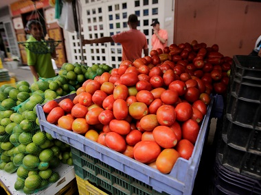 The pricey produce: Congress launches 'state bank of tomato' to protest rising price of vegetable