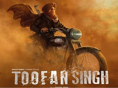 Poster of Punjabi film Toofan Singh,