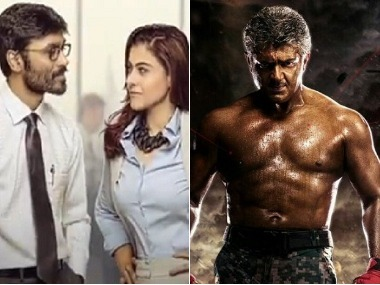 VIP 2, Vivegam are among the Kollywood films releasing during this period. Images via Twitter/File Photos