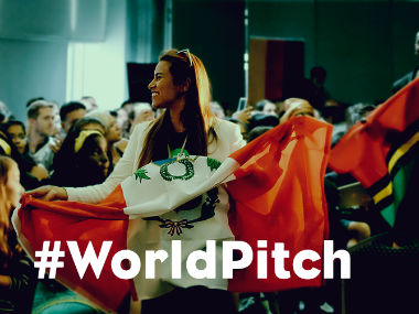Twelve finalists were sent at World Pitch Summit this year. Technovation Iridescent.