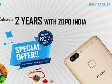 ZOPO Mobile has come with 'ZOPO 2nd Anniversary Sale'. ZOPO.