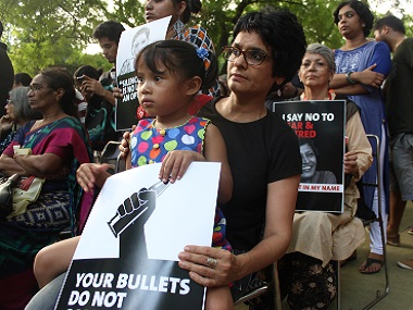 Portrait of a protest: Notes from the Gauri Lankesh, Not In My Name, JNU rallies