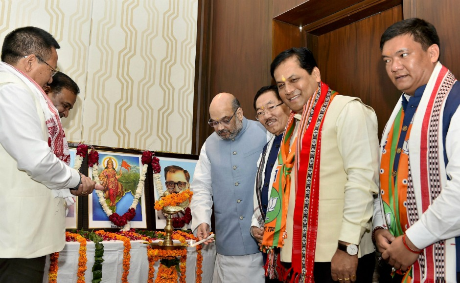 Amit Shah bats for development of North East at NEDA conclave