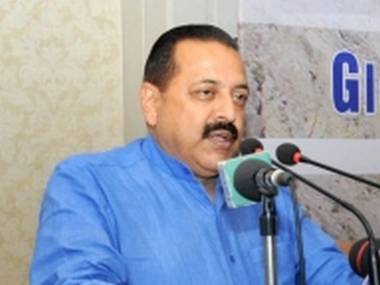 Minister of State for Atomic Energy and Space Jitendra Singh. IANS