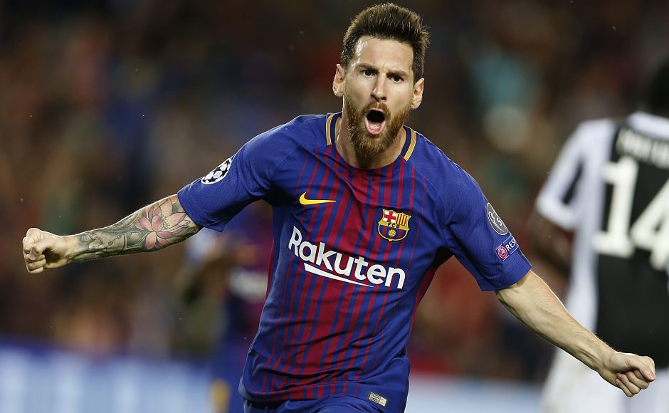 Lionel Messi leads Barcelona to victory over Juventus; Chelsea thrash debutants Qarabag in Champions League