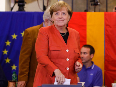 Germanys Angela Merkel wins fourth term victory clouded by nationist party winning first parliament seats
