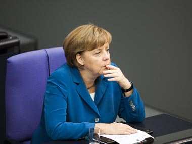German chancellor Angela Merkel warns US pullout from Syria risks boosting influence of Russia and Iran