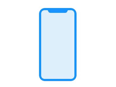 A leaked icon of the iPhone 8 as found in the HomePod firmware