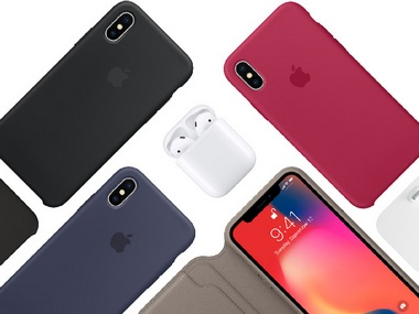 Apple iPhone X. Image: Apple