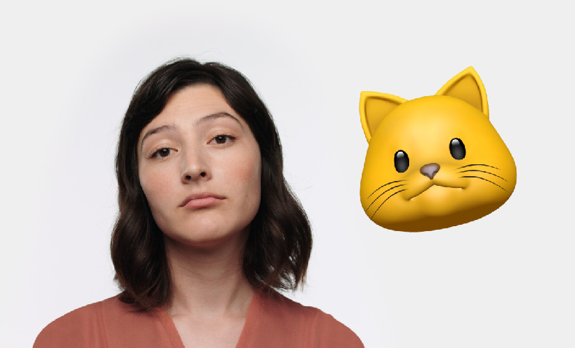 Apple has introduced Animoji that use the front camera to create customised 3D emoji.