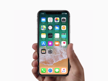 The gorgeous new iPhone X