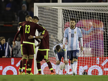 FIFA 2018 World Cup qualifiers: Argentina's draw, Chile's loss puts qualification of both teams in jeopardy