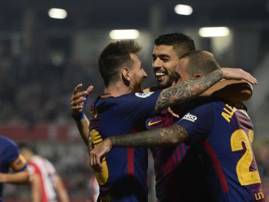 La Liga: Barcelona thump Girona to maintain perfect start; Real Madrid, Atletico keep pace with victories