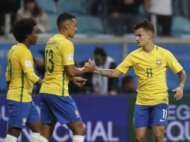 FIFA World Cup 2018 qualifiers: Brazil secure top spot; Argentina, Uruguay play out goalless draw